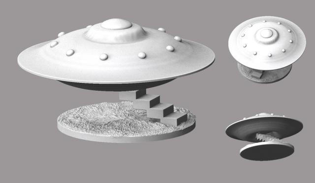 A+spaceship+landing