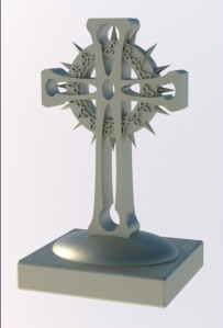 Celtic Cross (rendered view)