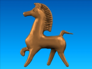 Bucephalus Horse rendered