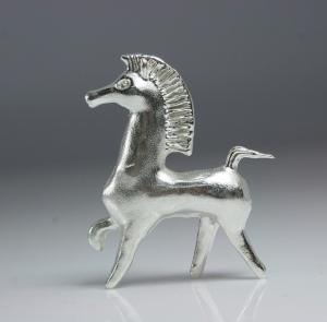Bucephalus Horse in .925 Silver