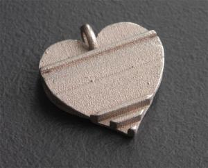 "Secret Love Pendant - ""back"" view"