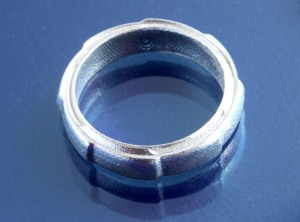 Sterling Silver Mechanical Ring photo 1