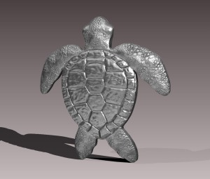 Sea Turtle - Render 1