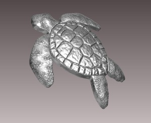 Sea Turtle - Render 4