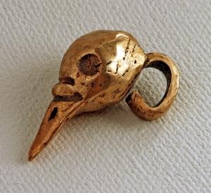 Bronze Bird Skull