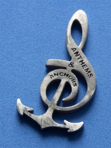 Anchors and Anthems Pendant back