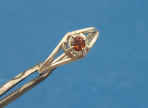 Silver with Fire Citrine - photo 3