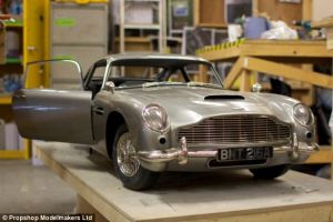 james bond aston martin model