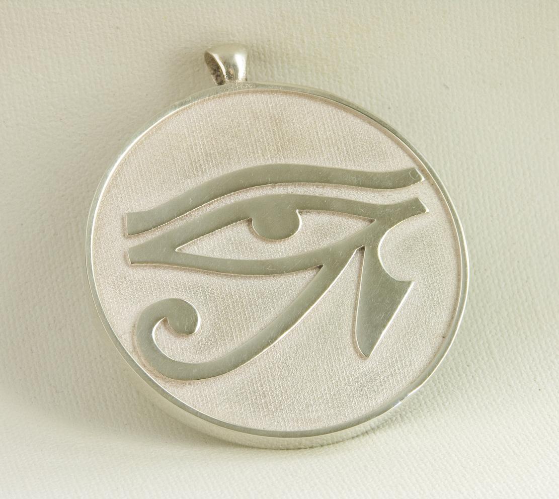 eye of horus pendant third dimension jewellery