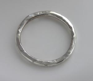 Argentium Large Thin Band