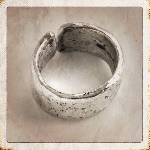 Argentium Split Ring
