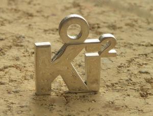Ki Squared Pendant