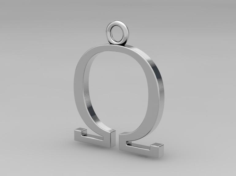 omega pendant