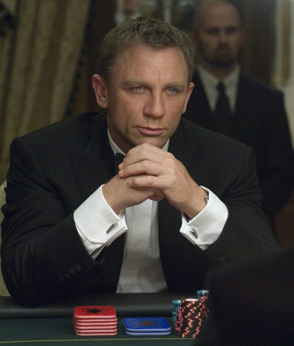 James Bond in Casino Royale