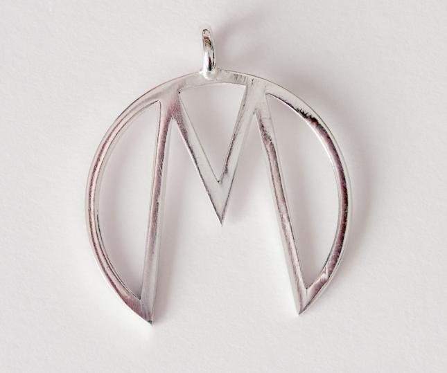 """""""M"""" Pendant"""