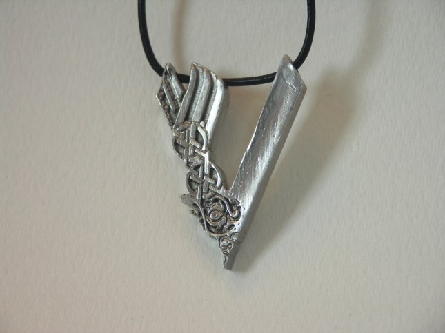 Pewter VIKINGS Pendant