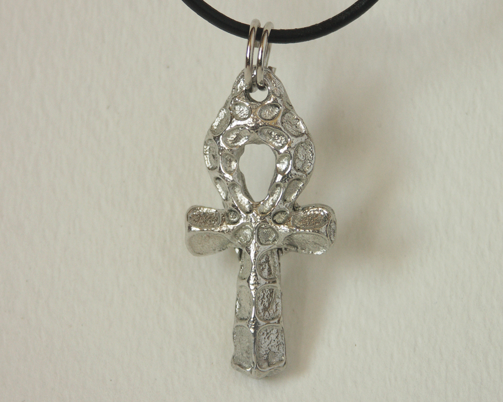 Egyptian ankh pendant in pewter third dimension jewellery egyptian ankh in pewter aloadofball Images