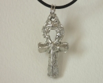 Egyptian Ankh Pendant in Pewter