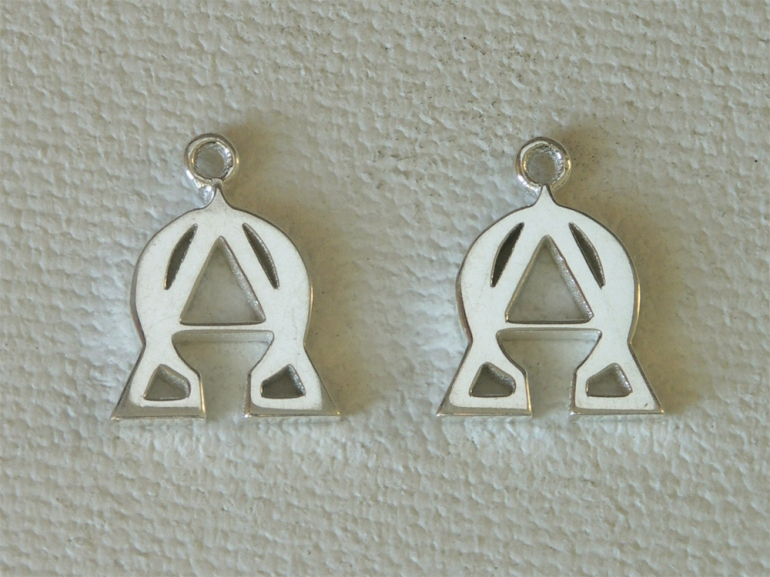 Alpha Omega Earrings