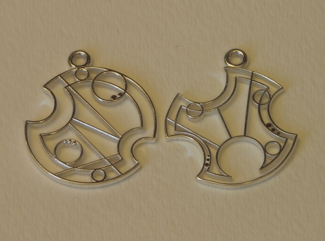 Gallifreyan Earrings