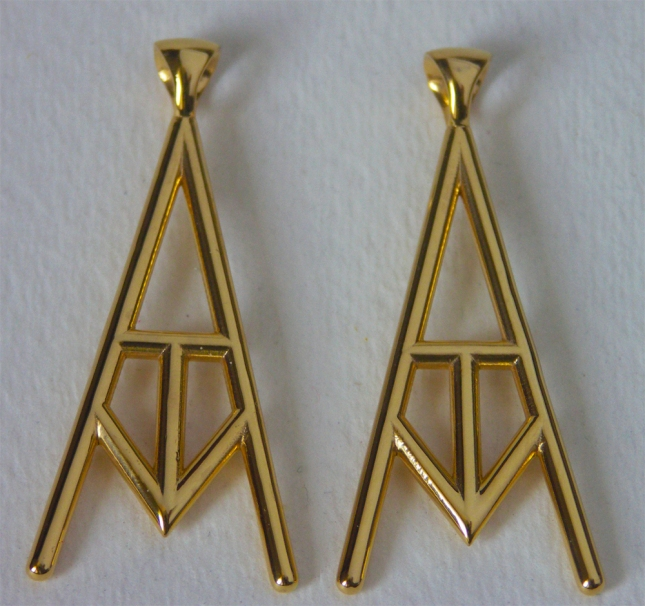 Polished Brass Pendants