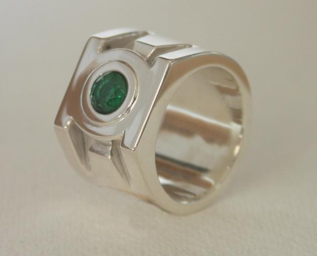 Green Lantern Ring, Silver
