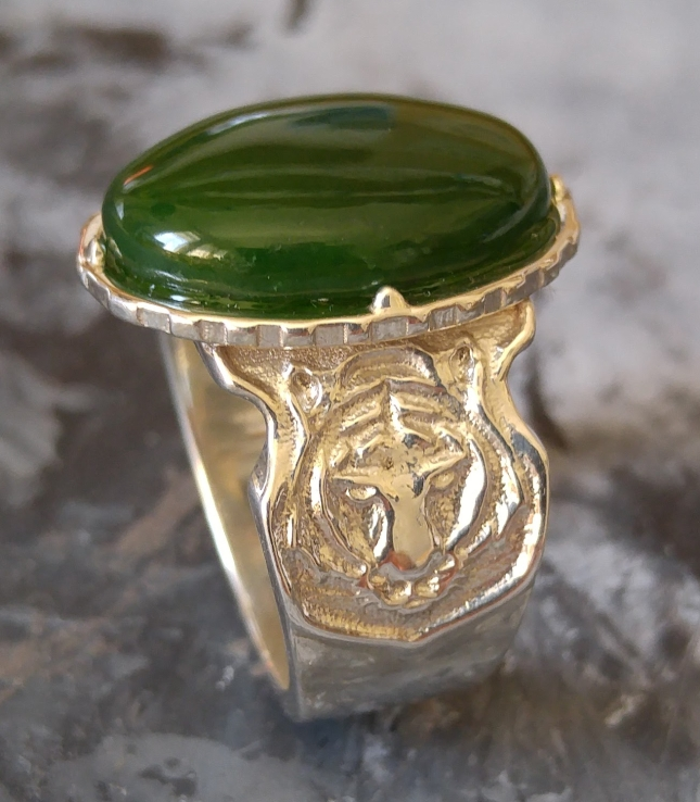 silver-and-jade-ring