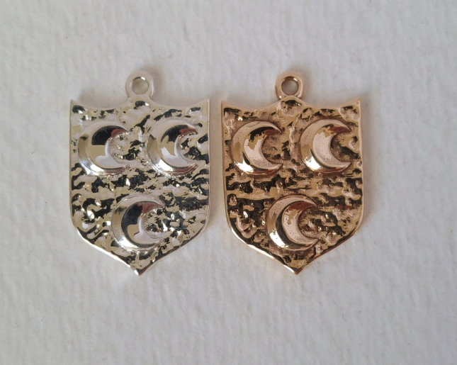 Family crest pendants