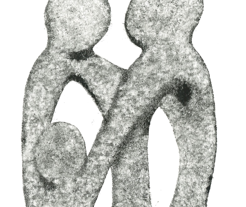"Monotype entitled ""Family"""
